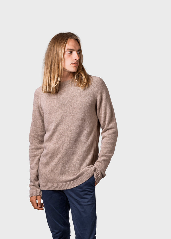 Klitmøller Collective ApS Ole Knitted sweaters Sand