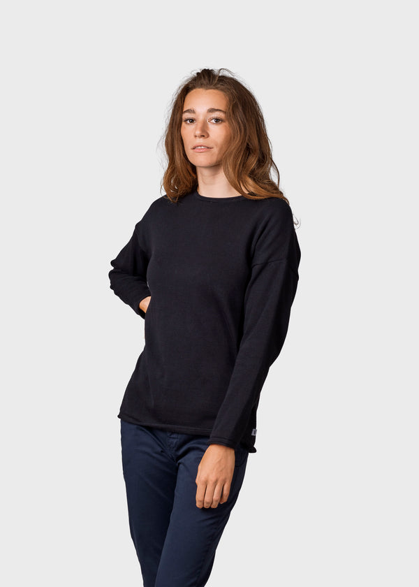 Klitmøller Collective ApS Patricia knit Knitted sweaters Black