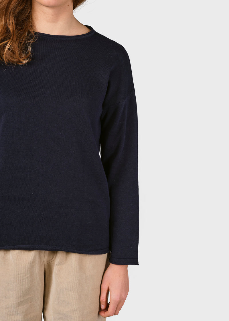 Klitmøller Collective ApS Patricia knit Knitted sweaters Navy