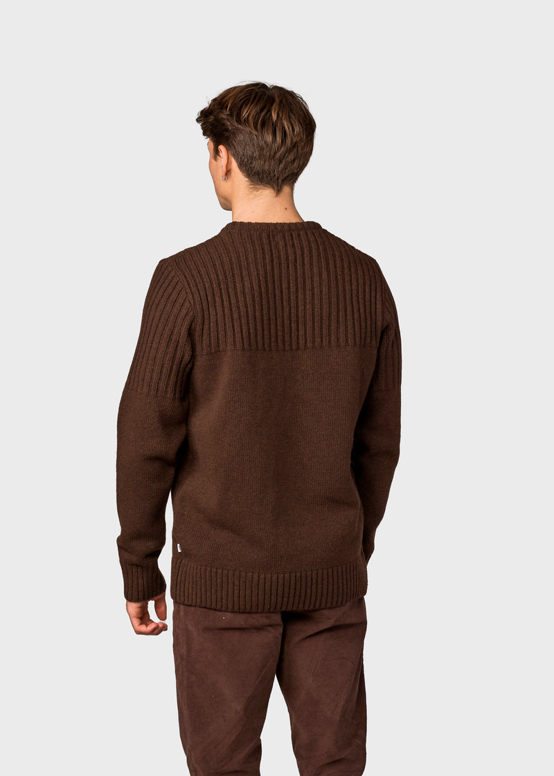 Klitmøller Collective ApS Søren Knitted sweaters Earth