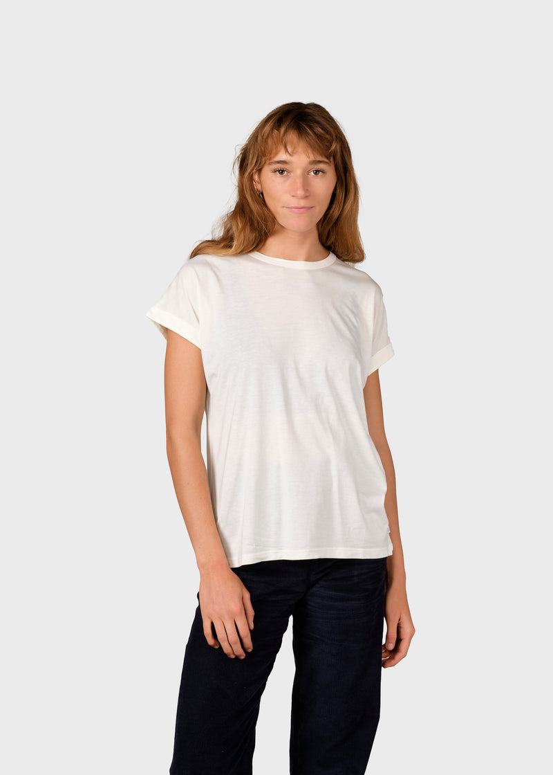Klitmøller Collective ApS Sigrid tee T-Shirts Cream