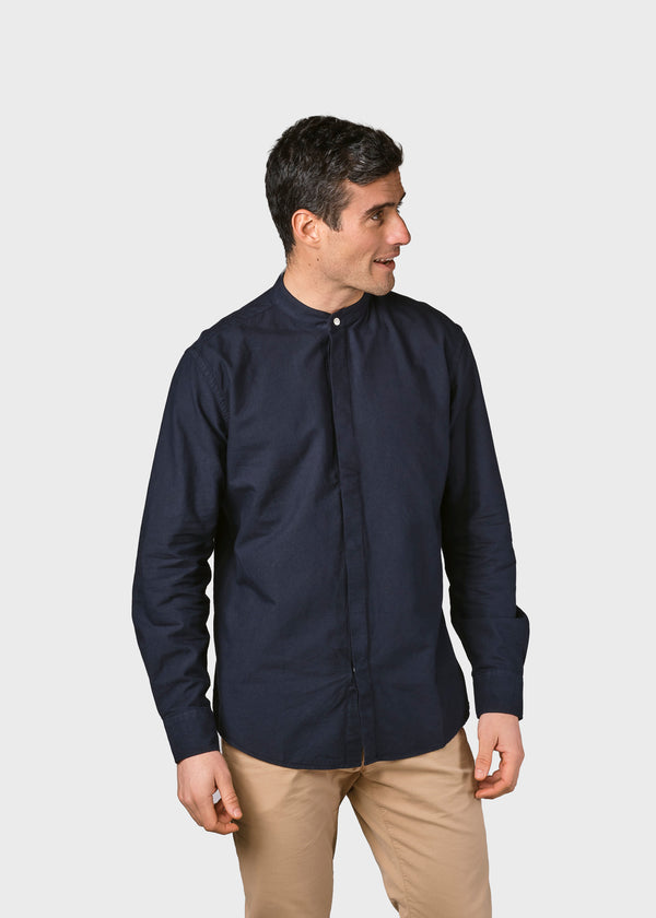 Klitmøller Collective ApS Simon shirt Shirts Navy