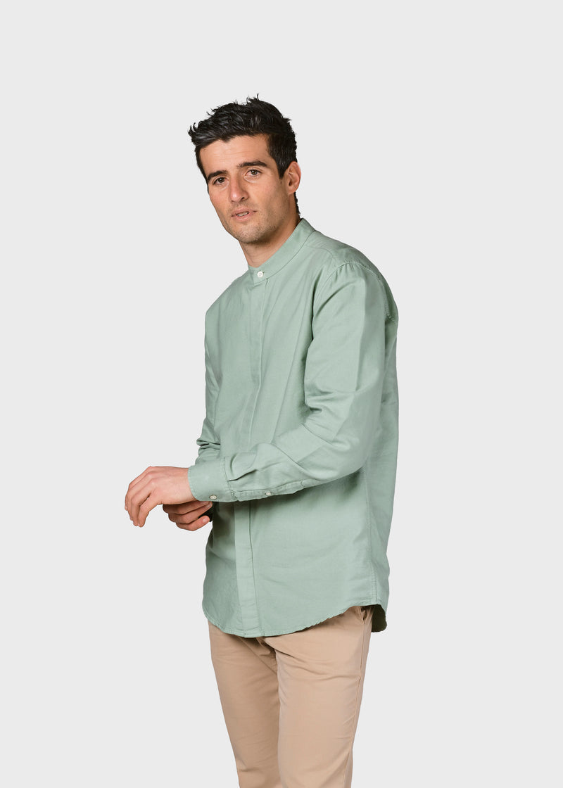 Klitmøller Collective ApS Simon shirt Shirts Pale green