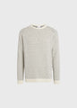 Hugo knit - Cream/navy
