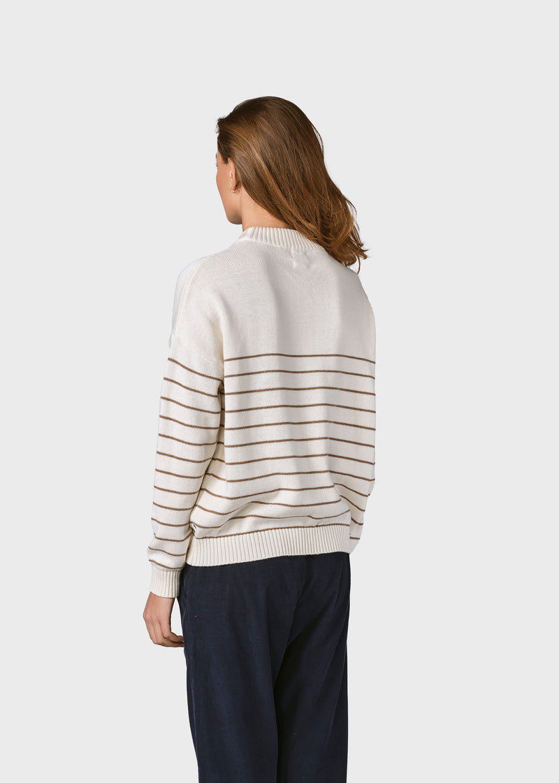 Klitmøller Collective ApS Ibi knit Knitted sweaters Cream/sand