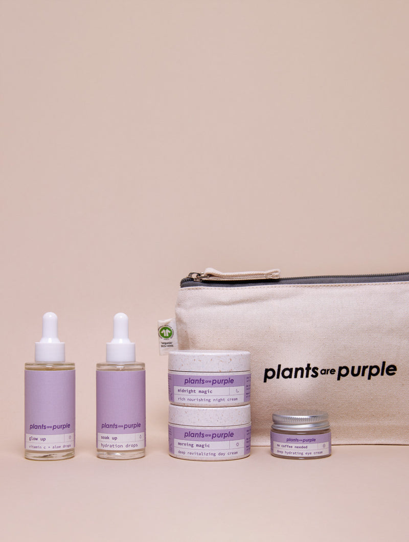 Purple Perfection + The Beauty Bag