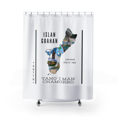 Guam Sotta 671 Shower Curtain
