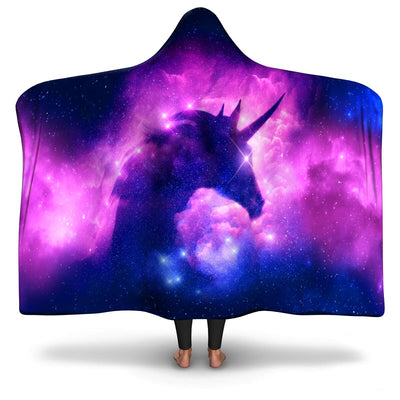 Magical Unicorn Hooded Blanket