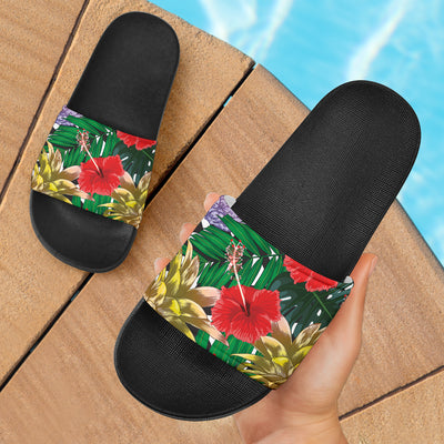 Summer Pineapple Love Slide Sandals