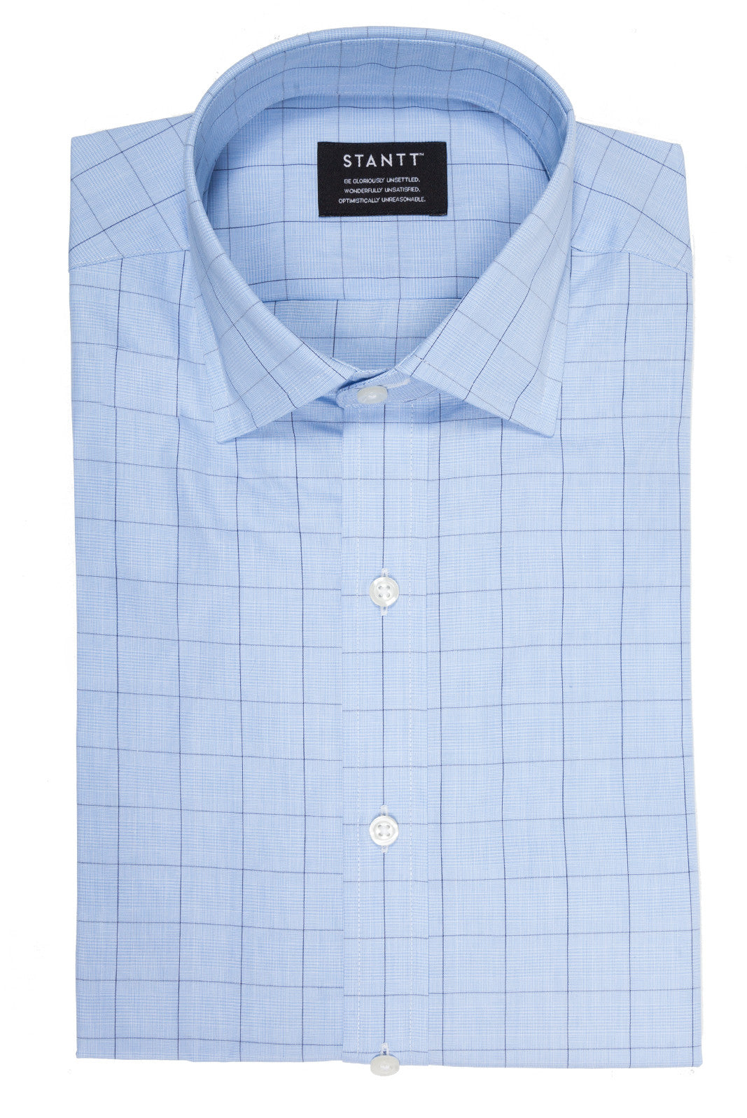 Sky Blue Prince of Wales Check