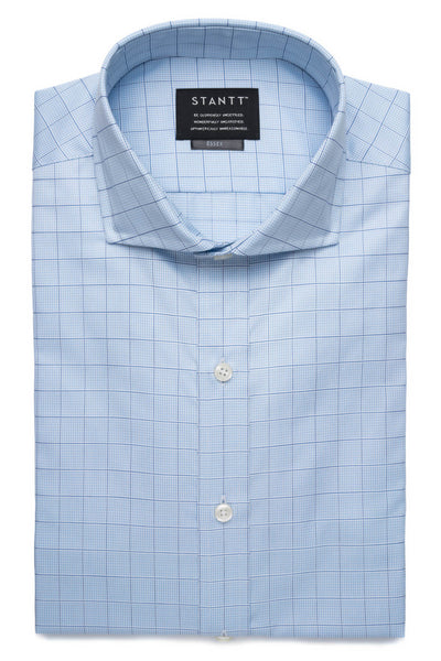 Light Blue Prince Of Wales Check