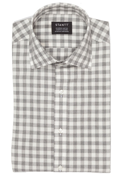 Grey Heather Gingham