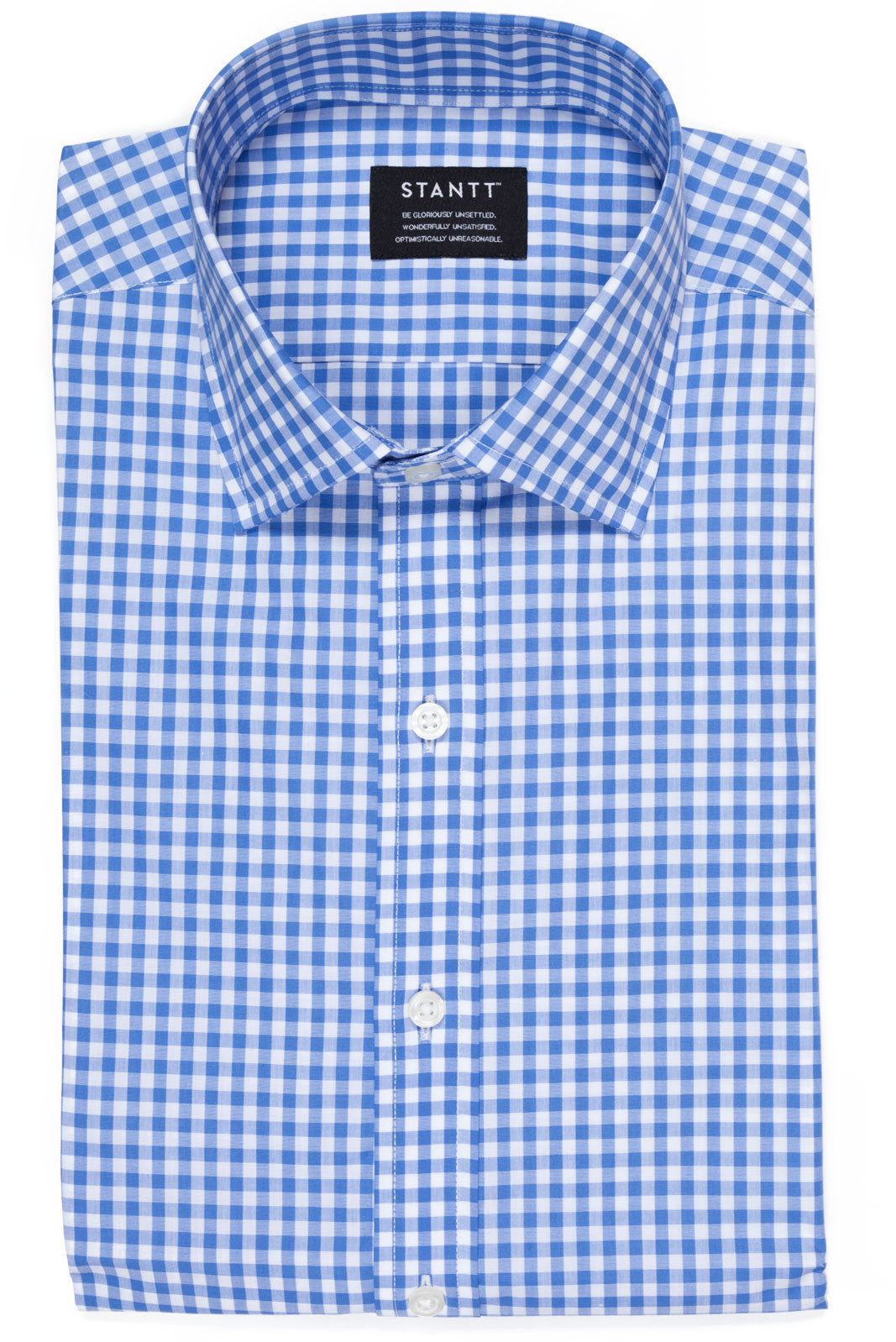 Pacific Blue Gingham