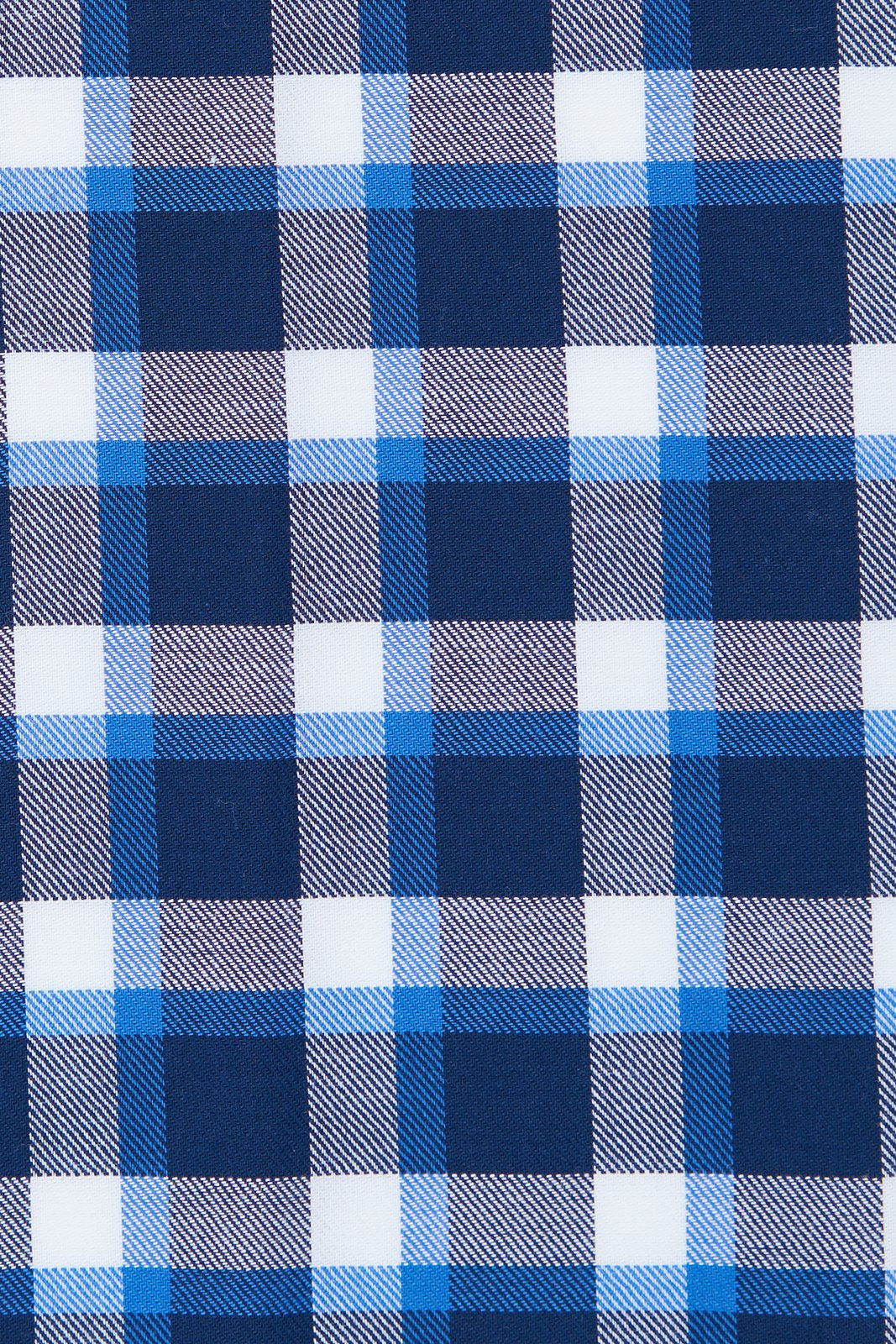 Blue Accented Check Flannel