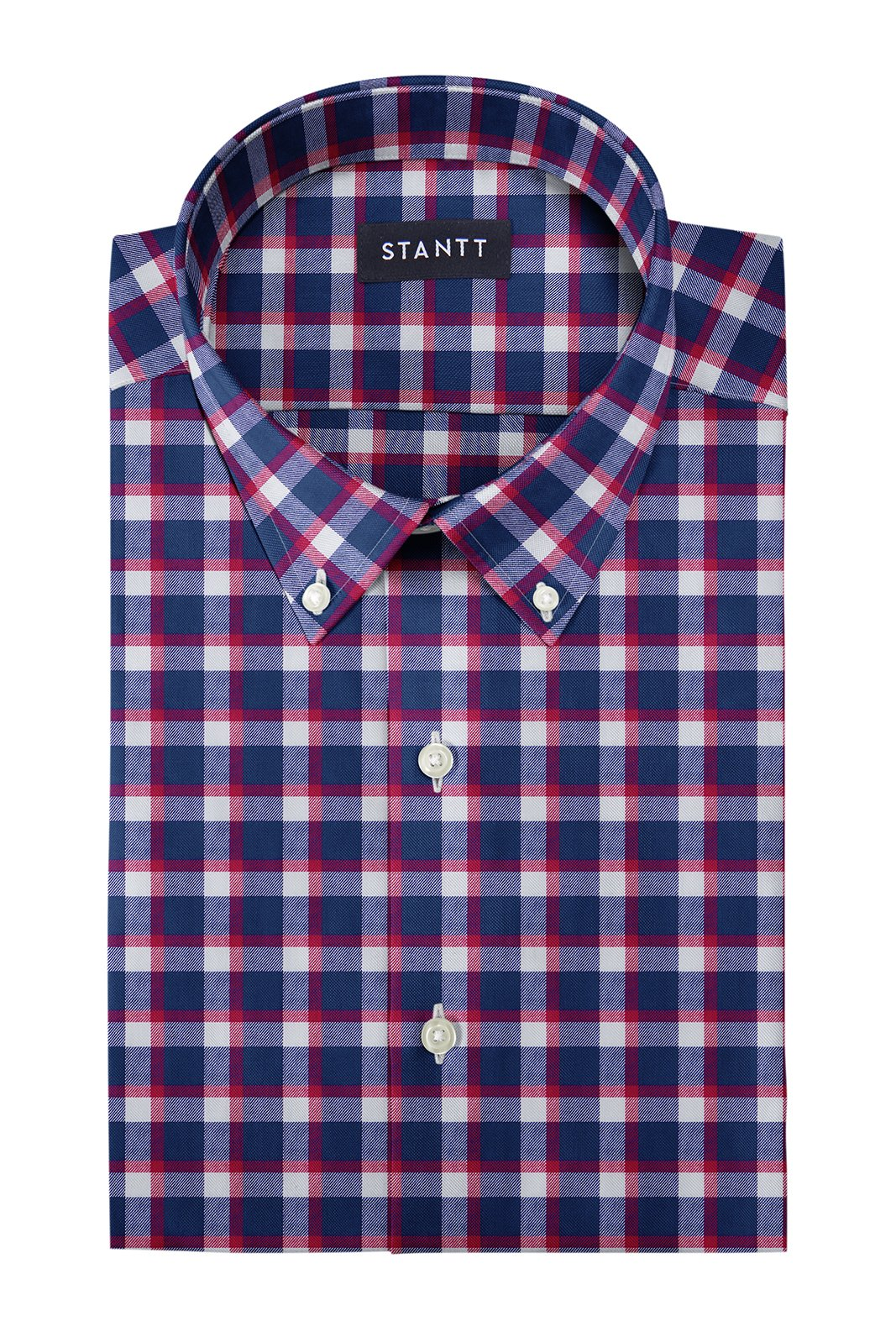 906372811249 Shirts | Red Accented Check Flannel: Button-Down Collar, Long Sleeve ...
