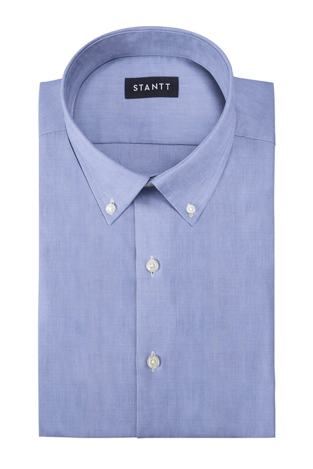 Soft Chambray: Button-Down Collar, Barrel Cuff