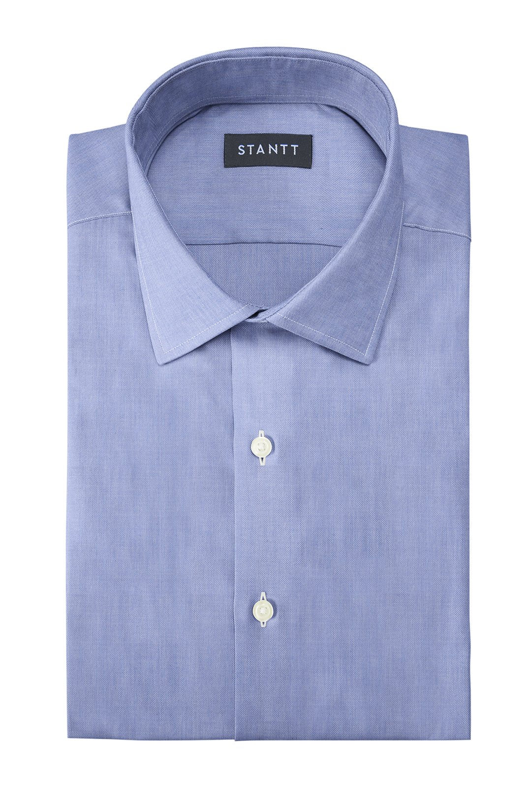 Soft Chambray: Modified-Spread Collar, Barrel Cuff