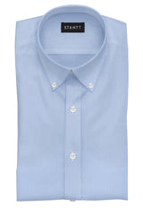 Blue Bengal Stripe: Button-Down Collar, Barrel Cuff