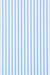 Blue Dress Stripe: Semi-Spread Collar, Barrel Cuff