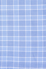 British Blue Prince of Wales Check: Cutaway Collar, Barrel Cuff