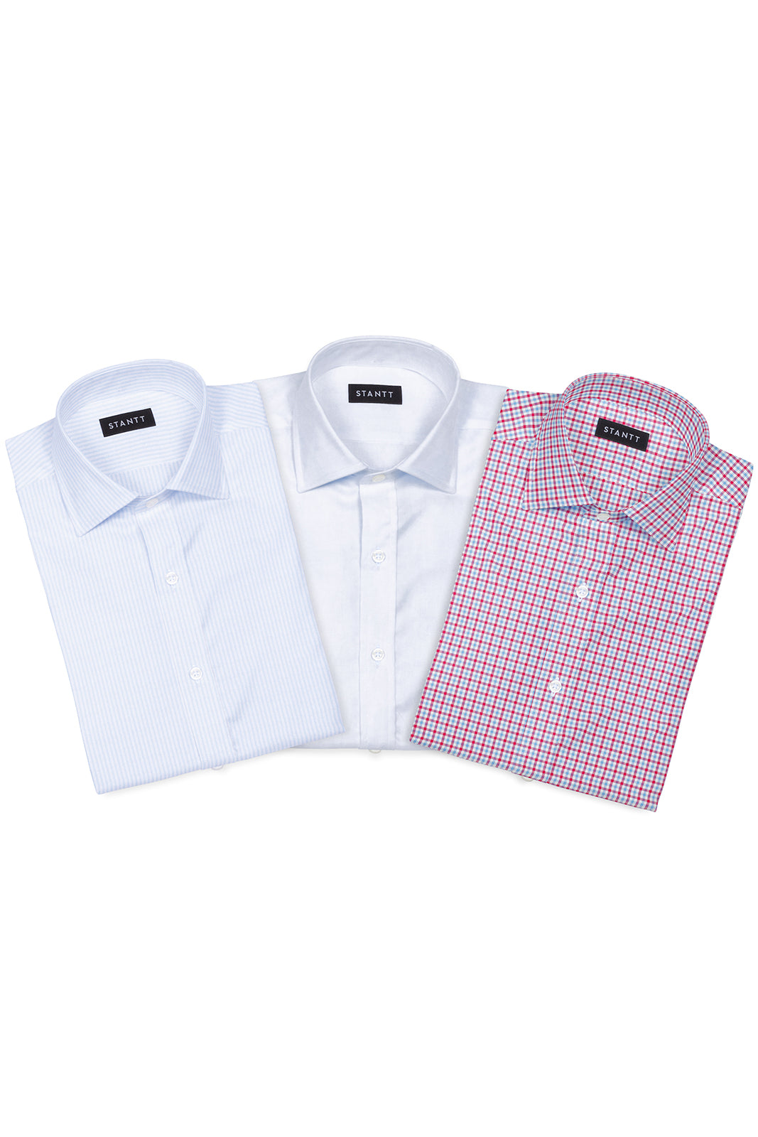 Summer Weekend Essentials Pack: Button-Down Collar, Barrel Cuff