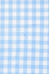 Duca Light Blue Gingham: Modified-Spread Collar, Barrel Cuff