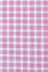 Heathered Brick Red Check: Cutaway Collar, French Cuff