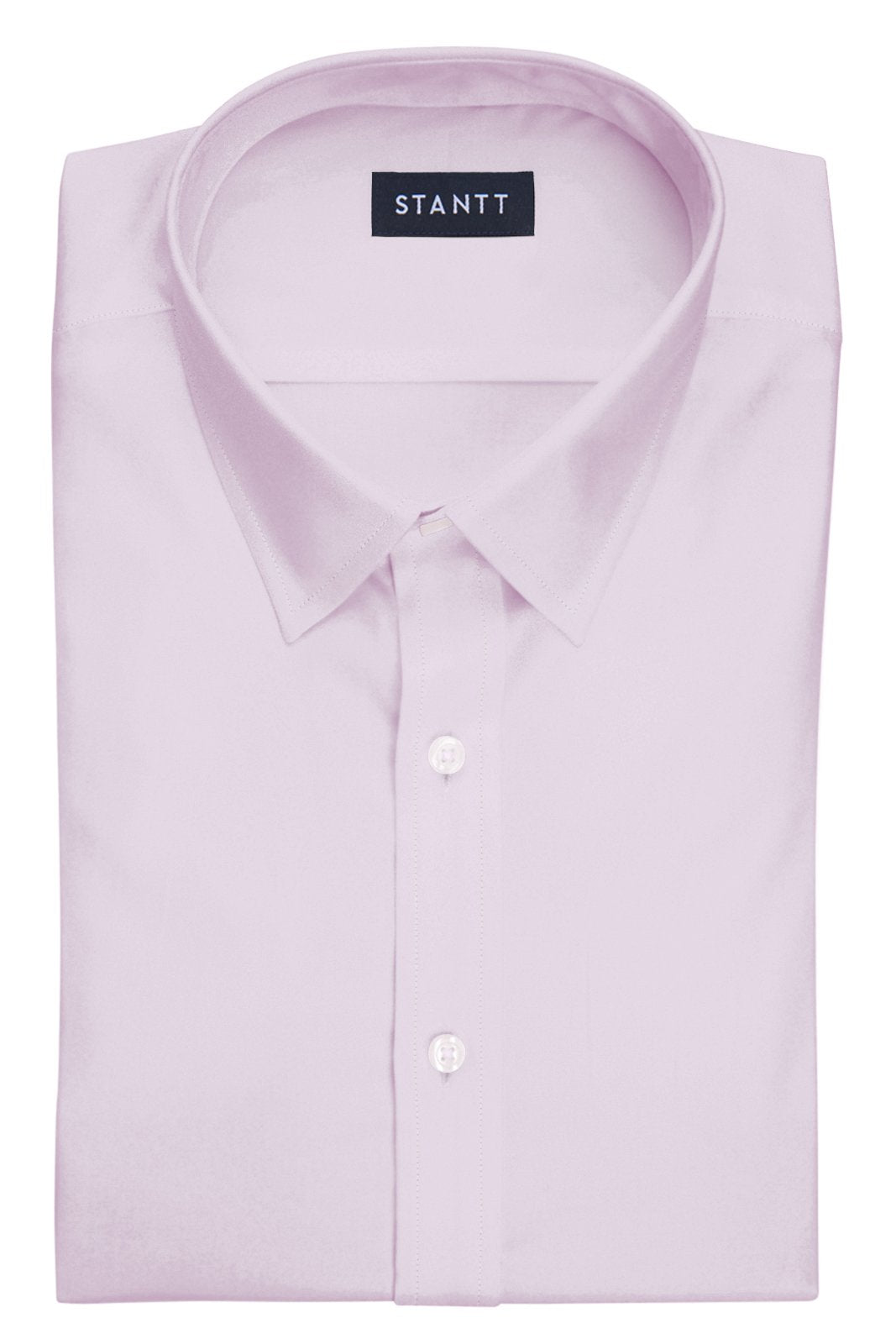 Light Pink End-on-End: Semi-Spread Collar, French Cuff