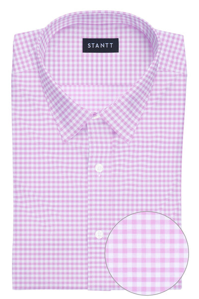 Light Pink Mini Gingham