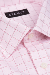 Light Pink Prince of Wales Check