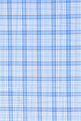 Matrix Blue on Blue Dress Plaid: Modified-Spread Collar, French Cuff