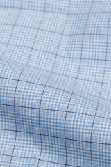 Light Blue Glen Plaid