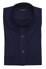 Navy End-on-End: Cutaway Collar, French Cuff