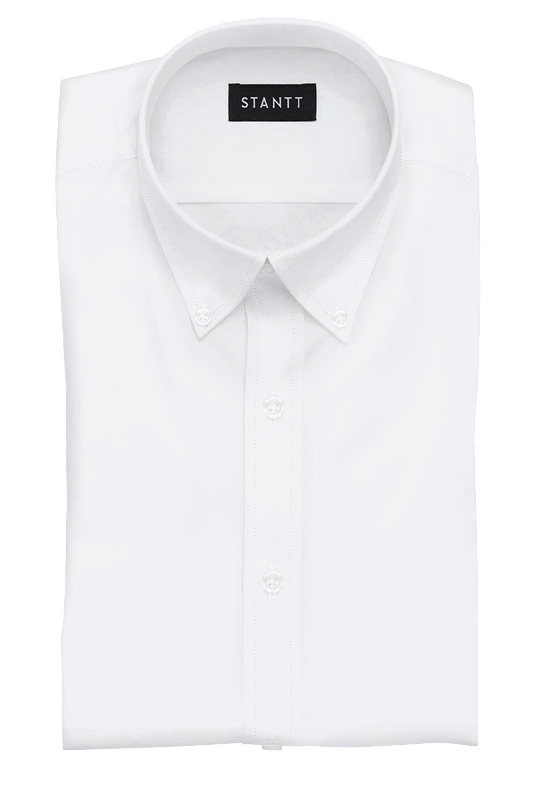 8fc63cb2c6 Wrinkle-Resistant White Oxford  Button-Down Collar