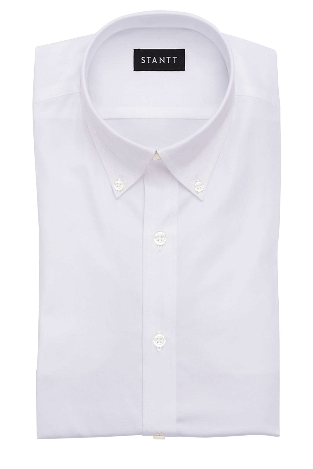 6744caa720 Wrinkle-Resistant White Twill  Button-Down Collar