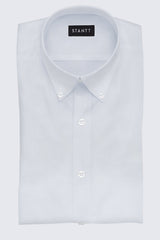 White Royal Oxford: Button-Down Collar, Barrel Cuff