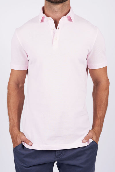 Light Pink Long-staple Cotton Polo