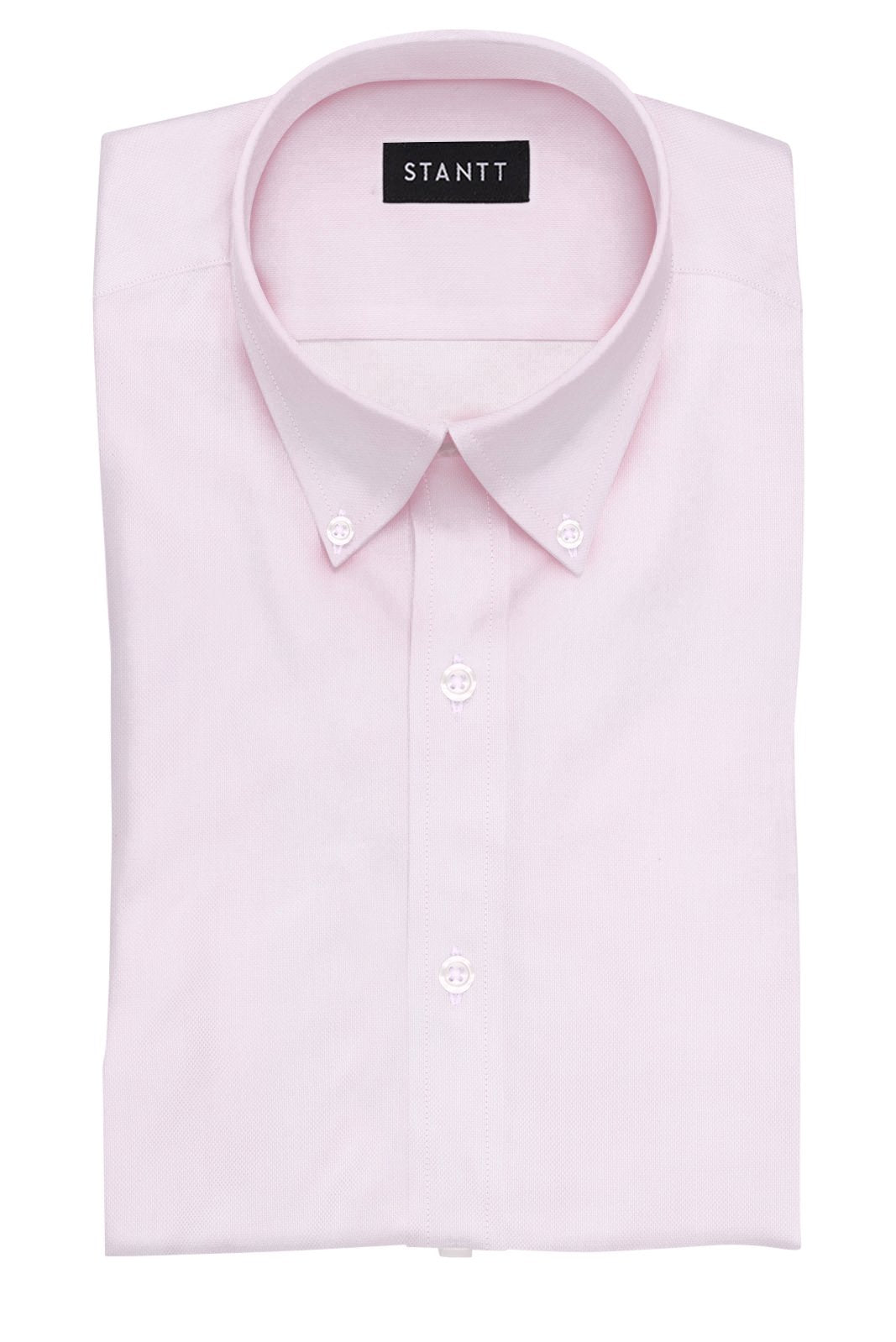 Pink Royal Oxford: Button-Down Collar, Barrel Cuff