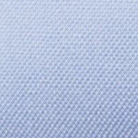 Wrinkle-Resistant Light Blue Oxford: Semi-Spread Collar, French Cuff