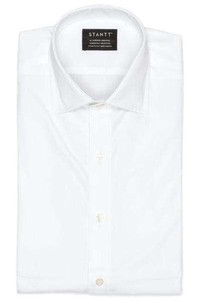 Performance White: Modified-Spread Collar, French Cuff
