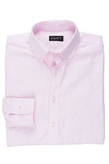 Light Pink Oxford: Button-Down Collar, Barrel Cuff