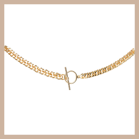 Bobbi Choker Necklace - Gold