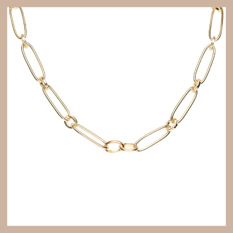 Carissa Necklace - Gold