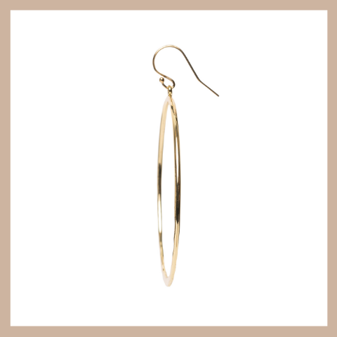 Linn Hoop Earrings