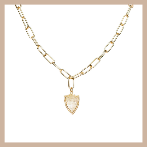 Navarro Necklace - Gold