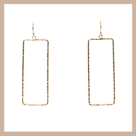 Tegan Rectangle Earrings