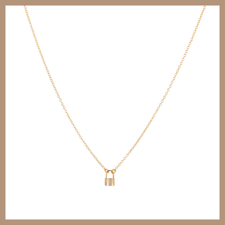Oxana lion Necklace - Gold