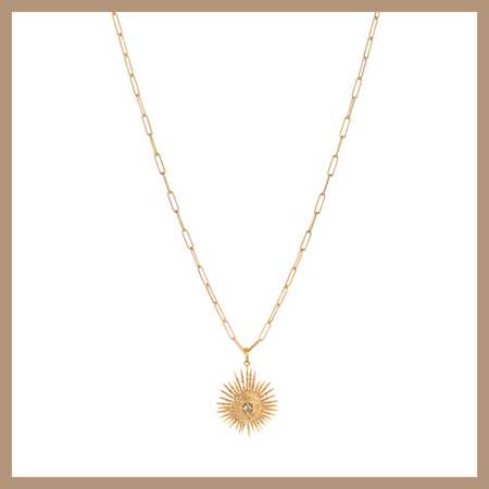 Katya Necklace - Butterfly - Gold