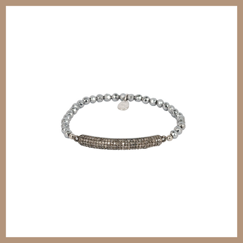Eclipse Diamond Bracelet - Diamond Small Curve Tube