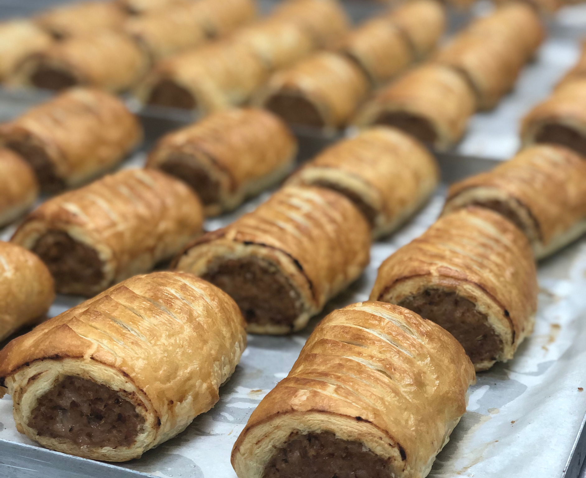 Pork, Bacon & Maple Sausage Roll
